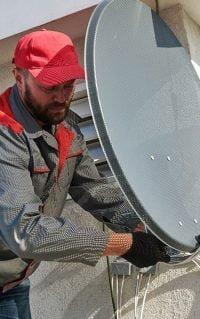 Commercial TV Antenna Installation